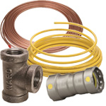 gas pipe, tubing & fittings