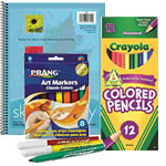 art & school supplies
